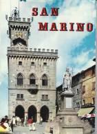 San Marino  Leporello  13 Pictures Size 10,5 Cm X 7,5 Cm.  # 848 # - Old Paper