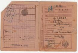 Carte D'alimentation De La Commune De Nice - Documents