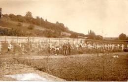 Camp De Prisonniers D'Ohrdruf 1ere Guerre Mondiale 1914-1918 Prisonniers Creusant Des Tombes Cimetière Militaires - Guerre 1914-18