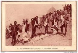 TCHAD - Sur le LOGONE , R�gion de BONGOR - UNE CHASSE HEUREUSE - �diteur BRAUN & Cie