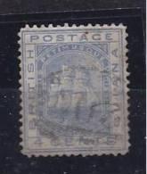 BritishGuiana1876: 4cent (CC Watermark) Used (not Torn Or Thin) - Guyane Britannique (...-1966)