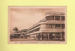 *  CPSM..( 93 )..Aérodrome LE BOURGET-DUGNY : La Nouvelle Aérogare   - Voir Les 2 Scans - Aerodrome