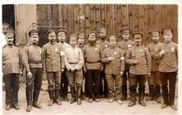 Camp De Prisonniers D'Ohrdruf 1ere Guerre Mondiale 1914-1918 Photo De Groupe - Guerre 1914-18