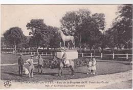CPA 78 : MAISONS LAFFITTE - Parc De La Propriété De M. Frank - Jay - Gould - Maisons-Laffitte