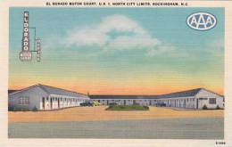 North Carolina Rockingham El Dorado MOtor Court U S 1 NOrth City