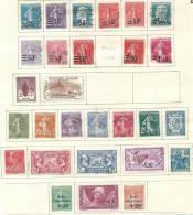Collection De Semi-modernes Avant 1930 à 12% - 6 Scans - Collections