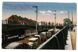 HERBESTHAL - Brücke über Dis Bahnstrecke - Cöin - Aachen - Brüssel - Paris - Colorized Card - Blank Back - Lontzen