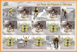 France 2003 Bloc Feuillet N° 59 **  Centenaire Du Tour De France - Blocs Souvenir