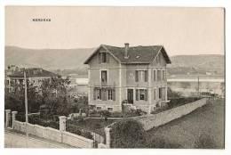 HENDAYE - Maison Quartier De La Gare - Wagons - Bidassoa - Carte Vierge - Hendaye