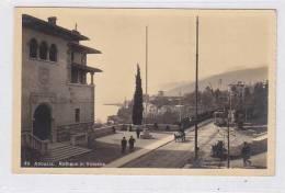 CROATIA OPATIJA  ABBAZIA Tram Nice Postcard - Croatia