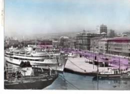 Schiff MS Jadran Im Hafen Von Rijeka 15.8.1961 Nach Biberach Riss - Dampfer