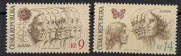 Tschechien / Czech Republic (1995)  Mi.Nr. 76 + 77  ** / Mnh  (bb100)  EUROPA - 1995