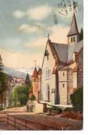 Litho Evangelische Kirche In Badgastein 11.8.1910 Nach Baden Bei Wien - Non Classificati