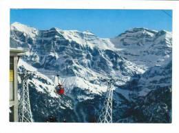 Suisse // Valais //  Champéry-Télécabine De Planachaux - VS Valais