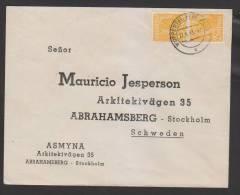 Kontrollrat,952 MEF Nach Schweden (3186)  Preis Wurde Reduziert !! - Gemeinschaftsausgaben