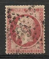 Fr  Pub Prix Fixe   YT N° 24 Oblitere Etoile De Paris   N°  9 - 1862 Napoleon III