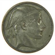 50 FR MERCURY 1951 SILVER ARGENTO SILBER BELGIQUE - 1945-1951: Reggenza