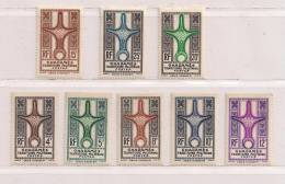 GHADAMES  ( FRGHA - 1 )  1949   N° YVERT ET TELLIER    N° 1/8  N** - Neufs