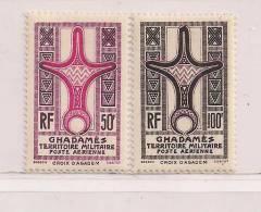GHADAMES  ( FRGHA - 2 )  1949   N° YVERT ET TELLIER  POSTE AERIENNE   N° 1/2  N** - Neufs
