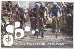 CYCLISME /   PARIS  /  ROUBAIX   C'EST L'ENFER     CPM  10x15 - Cyclisme