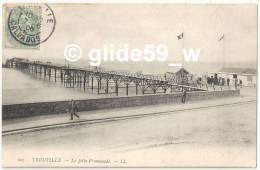 TROUVILLE - La Jetée-Promenade (animée) - N° 103 - Trouville