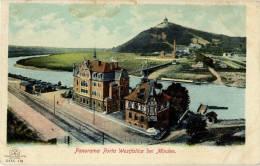 ALLEMAGNE PORTA WESTFALICA BEI MINDEN PANORAMA - Porta Westfalica