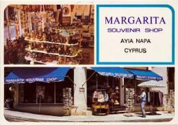 CYPRUS - PRE 1984 -  MARGARITA SOUVENIR SHOP, AYIA NAPA - MINT QUALITY - Cyprus