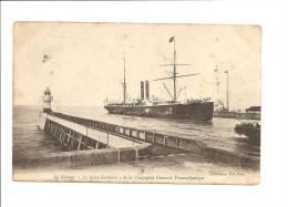 """CPA Le Steamer """"Le Saint Germain"""" De La Compagnie Générale Transatlantique - Steamers"""