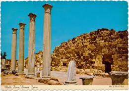 CYPRUS - PRE 1984 - MARBLE FORUM, SALAMIS (TURKISH CYPRUS) - MINT QUALITY - Cyprus