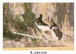 LAOS,RPD LAO,THAM TING CAVE,LUANG PRABANG PROVINCE LAOS NICE POSTCARD 17x13 Cm - Laos