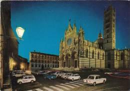 2320.   Siena - La Cattedrale - Notturno Del Duomo - Car - Auto - Voiture - Fiat 500, 1100 - Siena
