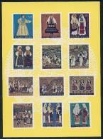 Jugoslavenski Folklor -- Zagrebfila '73. Cancel On Reverse - Timbres (représentations)