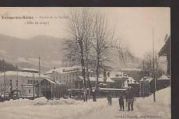 CPA:Uriage-les-Bains:Entrée De La Station:Effet De Neige - Uriage
