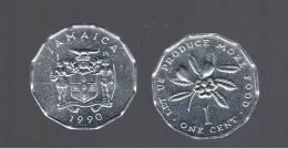 JAMAICA - 1 Cent 1990 KM64 - Jamaica