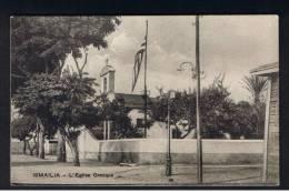 RB 929 - Early Egypt Postcard - The Greek Church - L'Eglise Grecque - Ismalia - Ismailia