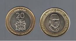 JAMAICA -   20 Dolar  2001  KM182 - Jamaica