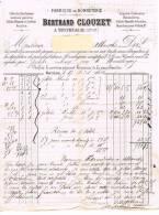 Fabrique De Bonneterie à Montrejeau Hte Garonne Maison Bertrand CLOUZET 1886 - Altri