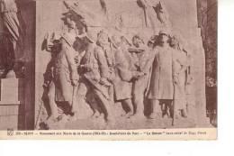 Dijon : Monument Aux Morts De La Guerre, Au Rond-point Du Parc : Le Retour, Par Eugène Piron (Edit. MD Dijon, N°150) - Dijon