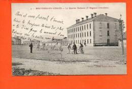 88 BRUYERES En Vosges: Le Quartier Barbazan (5ème Régiment D'artillerie) - Bruyeres