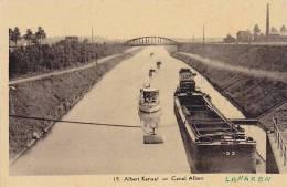 Lanaken - Albert Kanal - Canal Albert (péniches) - Lanaken