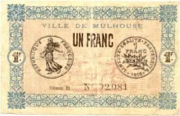 1franc Mulhouse - Bons & Nécessité