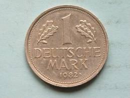 1 MARK 1982 F ( KM 110 ) ! - [ 7] 1949-… : FRG - Fed. Rep. Germany