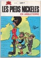 BD - Les Pieds Nickelés N° 27 En Angleterre - Pellos - Edition De 1974 - Pieds Nickelés, Les