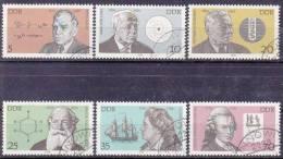 DDR 1979 / MiNr. 2406 - 2411  O / Used          (f668) - [6] République Démocratique