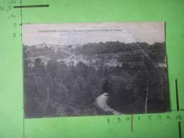 3) 78 ) Chateaufort :vue Panoramique Prise De La Cote De Cressely : Pliure : Petit Etat - France
