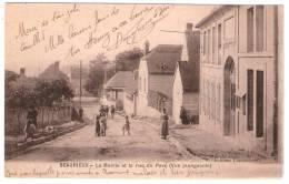 BEAURIEUX La Mairie Et La Rue Du Pavé (Lamourette) Aisne (02) - France