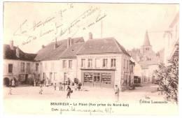 BEAURIEUX La Place Vue Prise Du Nord-Est (Lamourette) Aisne (02) - France
