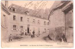BEAURIEUX Le Bureau De Poste Et Télégraphe (Lamourette) Aisne (02) - France