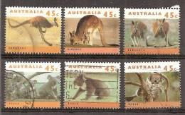Australië   Y/T     1368 / 1373      (0) - Oblitérés