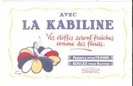 """Buvard """"LA KABILINE"""" Pour Raviver Les Couleurs (d'après Maucourt) En Excellent Etat - Produits Ménagers"""